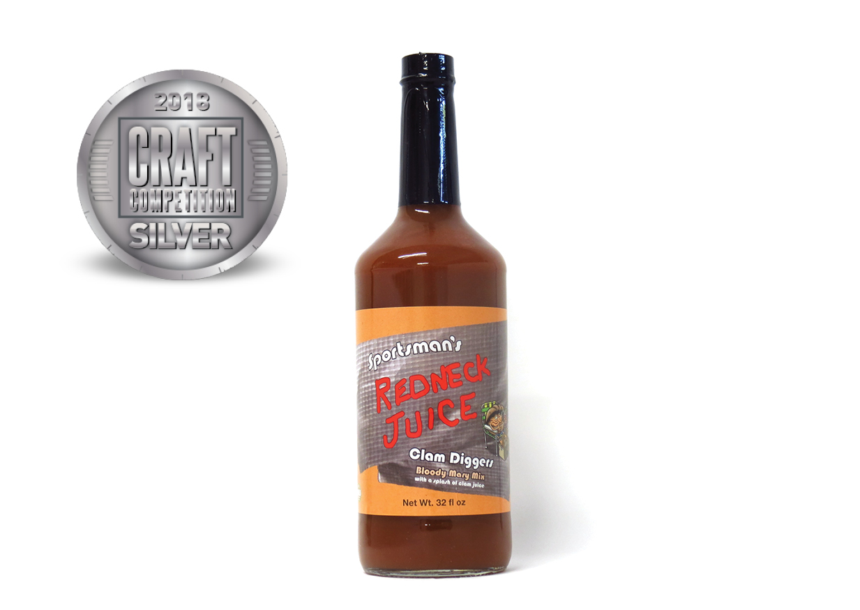 Sportsman's Redneck Juice Clam Diggers Bloody Mary Mix