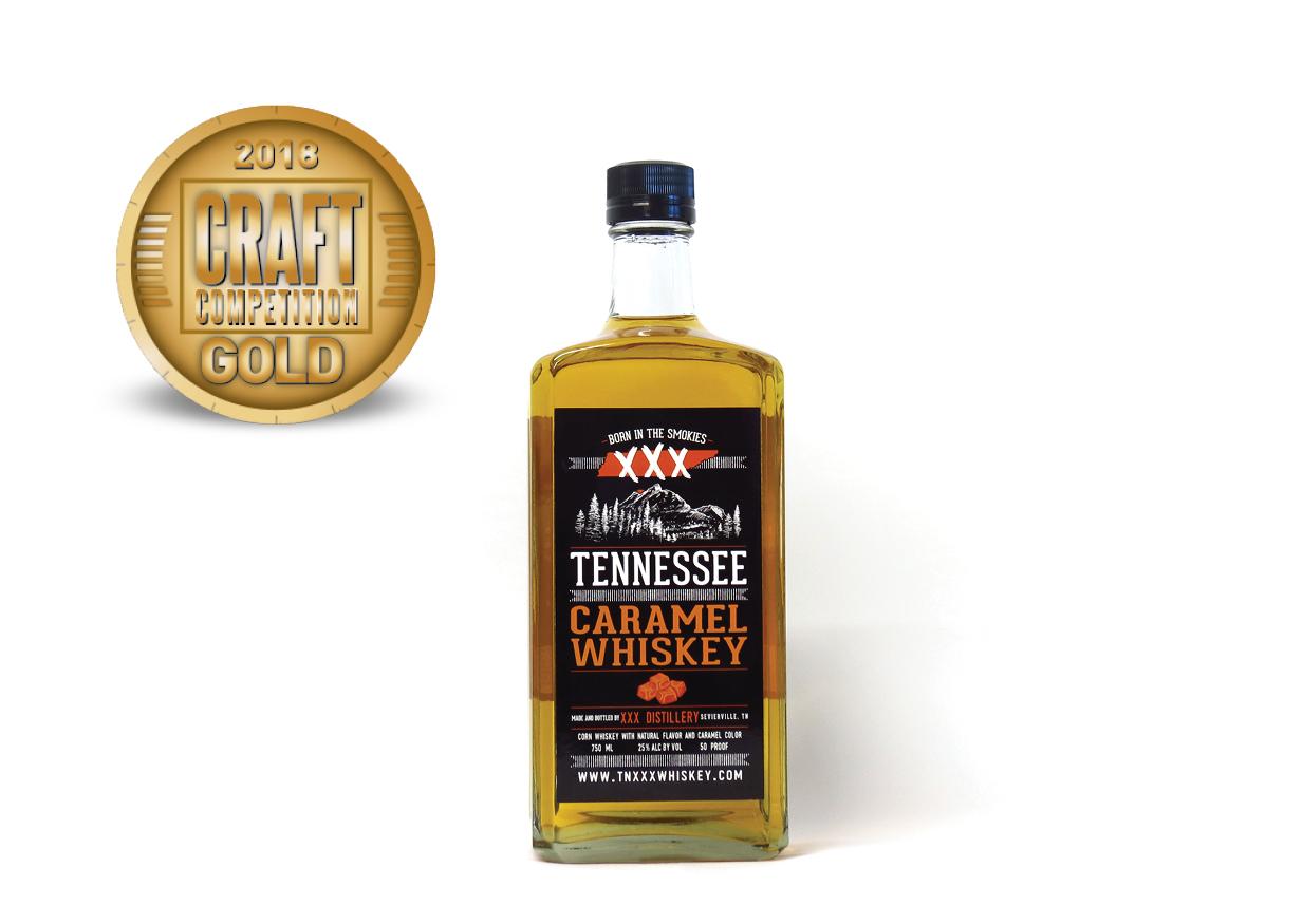 Tennessee XXX Caramel Whiskey