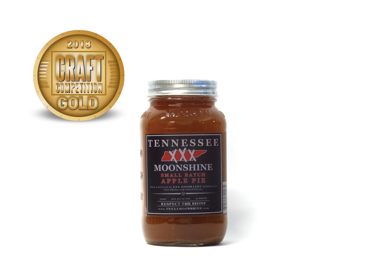 Tennessee XXX Moonshine Small Batch Apple Pie