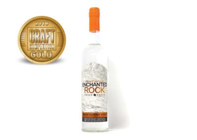 Ultra-Premium Enchanted Rock Texas Peach Flavored Vodka