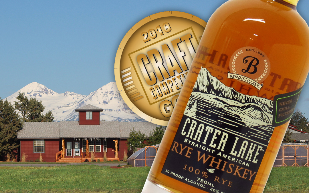 Crater Lake: Straight American Rye Whiskey