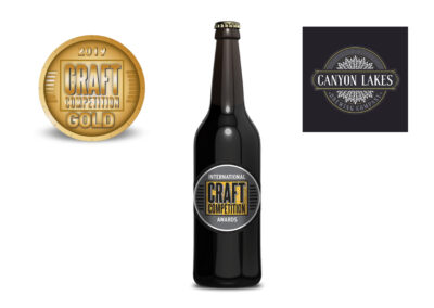 Canyon Lakes Brewery Rairway Gold