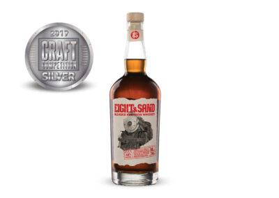 Eight & Sand Blended Bourbon Whiskey