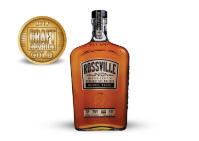 Rossville Union Barrel Proof Straight Rye Whiskey