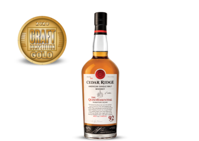 Cedar Ridge The Quint Essential American Single Malt Whiskey