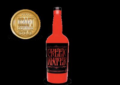 Creek Water American Cinnamon Flavored Whiskey