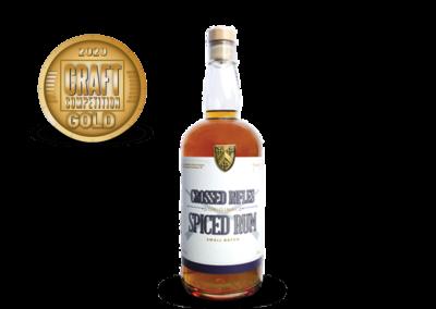 Crossed Rifles Spiced Rum