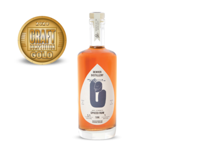 Denver Distillery Navy Strength Spiced Rum