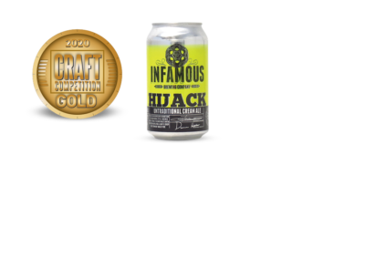 Infamous Brewing Company Hijack Untraditional Cream Ale
