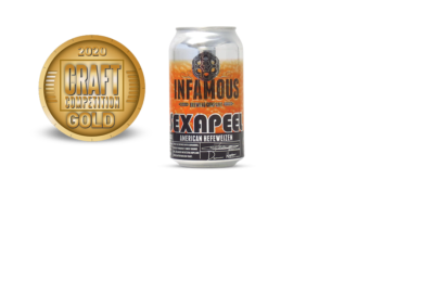 Infamous Brewing Company Sexapeel American Hefeweizen